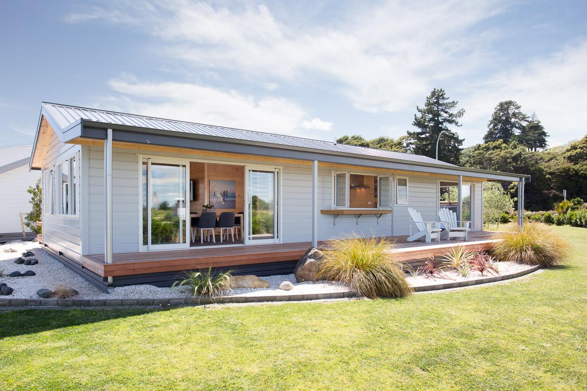 Exterior of Nelson Show Home Aluminium
