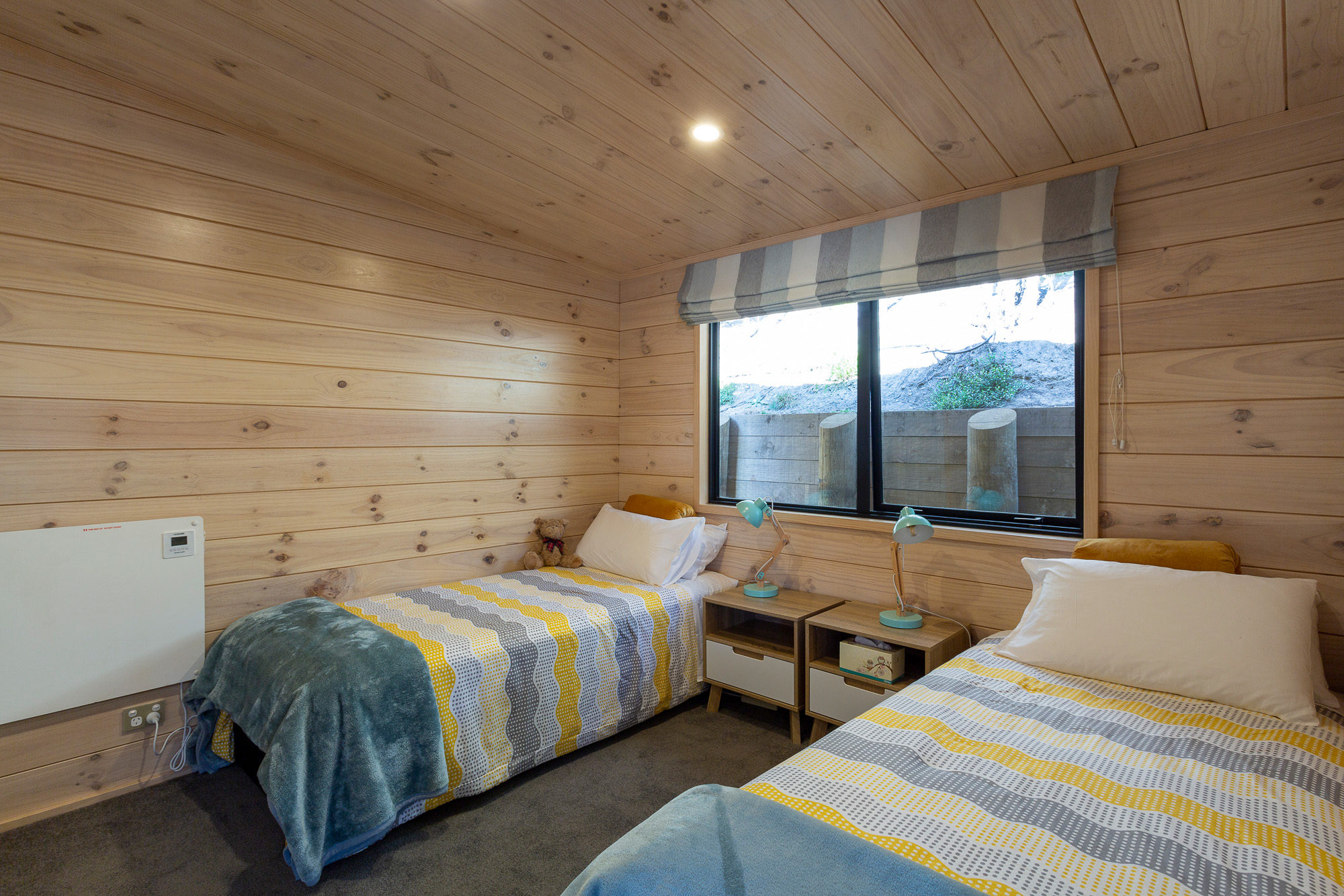 Second bedroom in Lockwood ReadyBuilt holiday accommodation